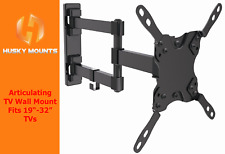 "Full Motion TV Wall Mount Samsung Vizio Tilt Swivel 19 22 28 32"" LED LCD"