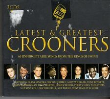 (FD451A) Latest And Greatest Crooners, 60 tracks various artists - 3 CDs - 2010