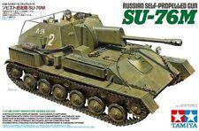 1/35 Tamiya 35348 - Russian Self-Propelled Gun - SU-76M Plastic Model Kit