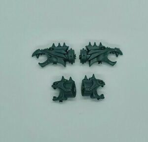 Warhammer 40k Chaos Space Marine Rhino Dragon Daemon Heads A