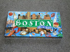 """BOSTON IN A BOX GAME : REAL ESTATE TRADING """"MONOPOLY"""" - NEW SEALED (FREE UK P&P)"""