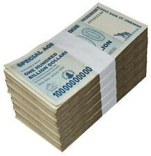 100 Billions Agro Cheque Used Zimbabwe 2008 x200pcs