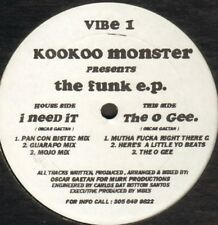 Kookoo Monster – The Funk E.P. – VIBE 1 - Usa 1992