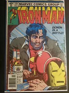 Iron Man #128 Demon in a Bottle - Marvel 1979