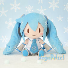Sega Vocaloid Hatsune Miku Winter Special Big Fluffy Snow Miku 2010 Plush SG9650