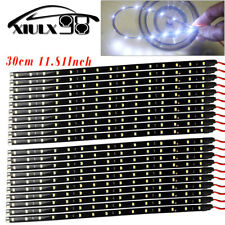 20X White 30CM/15 LED Flexible Truck Car Motor Trunk Light Strip Waterproof 12V