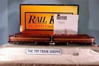 RAIL KING MTH 30-2731-1 PENNSYLVANIA ALCO PA AA DIESEL SET W PS-2. TESTED.