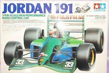 Raro TAMIYA 1/10 RC JORDAN 191 F1 Modelo Kit #58103 Nuevo