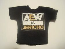 WWE AEW Mattel Elite Custom ALL ELITE WRESTLING IS JERICHO SHIRT