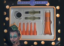 Kit Maquillage citrouille pour Halloween [54898] orange ongle crayon