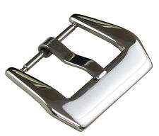 20mm Panatime Polished Pre-v Buckle - Spring Bar Attachment For Panerai