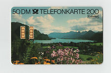 50 DM TELEFONKARTE 200 EINHEITEN 1989 GERMAN PHONE CARD