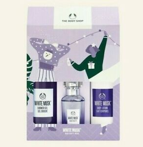 The Body Shop | White Musk Set | Bath & Body and EDT | Gift | New