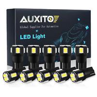 10X T10 12V SMD Wedge LED Light Bulb Globe White 2825 168 194 192 W5W 501 158 US