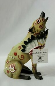Westland Giftware Call of the Wolf War Bonnet new