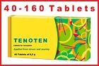 Tenoten Calming and Sedative Effects Anti Stress Anti Panic 40-160 Tablets