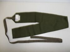 e2007 WW 2 Australian OD Wool Wrap Leggings with Tie Strings Putties pair PBT