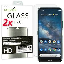 [2 Pack] Nokia 8.3 5G Tempered Glass Premium 9H Clear Screen Protector by MEZON
