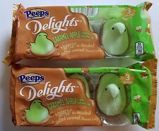 NEW 2017 PEEPS DELIGHTS CARAMEL APPLE FLAVORED MARSHMALLOW FREE WORLD SHIPPING