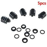 5Pcs 6.35mm/6.35 6P/6PIN stereo audio microphone female socket/jack connector xc