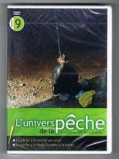 L'UNIVERS DE LA PÊCHE N° 9 - TANCHE / TRUITE LACUSTRE - DVD NEUF NEW NEU