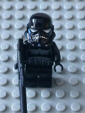 Star Wars LEGO MINIFIG Minifigure sw166 SHADOW STORMTROOPER 7667 7664!
