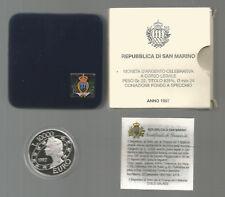 "SAN MARINO - 10000 Lire Argento 1997 ""Euro"" PROOF"