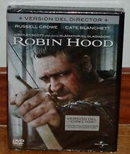 ROBIN HOOD VERSION DEL DIRECTOR DVD NUEVO PRECINTADO AVENTURAS (SIN ABRIR) R2
