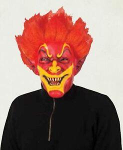 FIREY JACK MASK HORROR HALLOWEEN FANCY DRESS PARTY FACE FULL HEAD MASK