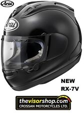 "NEW Arai RX-7V ""Diamond BLACK"" Motorcycle Race Helmet, Extra Large XL 61-62cm"