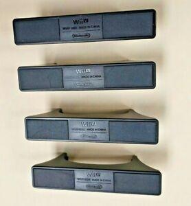 OEM Nintendo Wii U Vertical Console Stands - 2 Sets - SEASONAL PROMO