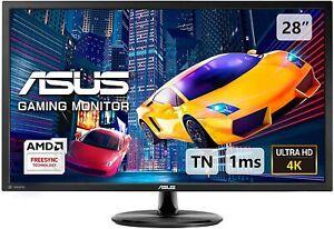 "ASUS VP28UQG 28"" 4K UHD 3840 x 2160 1ms  Adaptive Sync FreeSync Gaming Monitor"