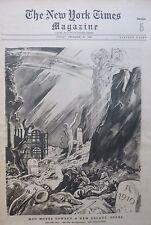 LAFAYETTE - TIMES SQUARE BROOKLYN BRIDGE DETERDING 12-1929 December 29 NY Times