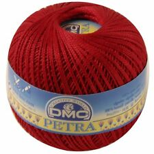 DMC Petra Cotton Size 3 100g Ball Shade Red 5321