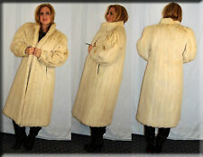 New Azurene Mink Fur Coat Size Medium 6 8 M Efurs4less