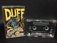 Duff McKagan Believe In Me Cassette Tape (Geffen Records 1993) Thailand Release