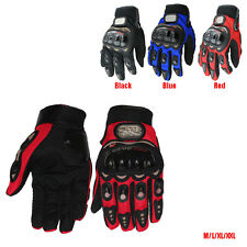 New Racing Fiber Gloves Pro-Biker Motorcycle Motocross Motocross Summer Bike