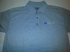 USPS Embroidered Polo Shirt S-3XL Heather Gray 50/50 USPS2 SHIRT