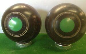 Lignum Vitae Crown Green Bowls