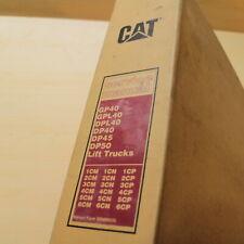 CATERPILLAR GP40 GPL40 DPL40 DP40 DP45 DP50 Forklift Repair Shop Service Manual