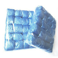 100Pack Disposable Shoe Covers Blue Colour Carpet Floor Foot Protector Cover