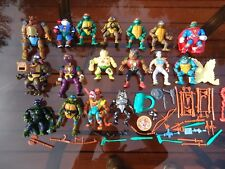 100% vintage original TMNT teenage mutant ninja turtles figure lot