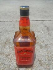 Rare JACK DANIELS Tennessee FIRE Display Bottle Promotional Sealed Empty