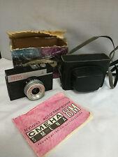 ЛОМО Smena 8 м Советский СССР 35 мм компактная пленочная камера с S чехол и ориг