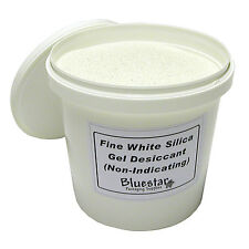 3kg Tub Fine Pure White Silica Gel Desiccant Granules for Flower Drying etc