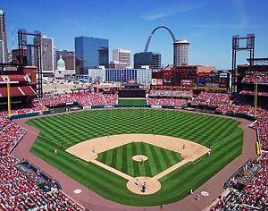 "St. Louis Cardinals Busch Stadium MLB Baseball Stadium Photo 11""x14"" Print 1"
