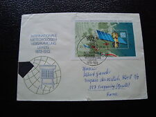 ALLEMAGNE RDA lettre 23/3/72  - timbre stamp germany (cy1) (A)