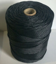 3mm BLACK TWINE 1 KG POLYETHYLENE BRAIDED COTESI/EURONETT