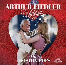 ARTHUR FIEDLER - BOSTON POPS : AN ARTHUR FIEDLER VALENTINE / CD - NEUWERTIG