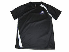 RLX Ralph Lauren Polo Black Cycle Spandex Active Shirt Soccer Gym Apparel Large